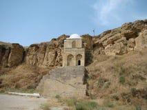 Diri Baba Mausoleum, Azerbaijão, Maraza Imagem de Stock