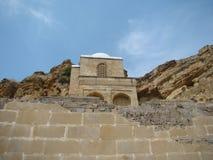 Diri Baba Mausoleum, Azerbaijan, Maraza. Royalty Free Stock Images