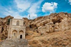 Diri Baba Mausoleum dans Maraza Gobustan, Azerbaïdjan photo stock