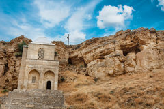 Diri Baba Mausoleum in Maraza Gobustan, Azerbaijan Stock Photo
