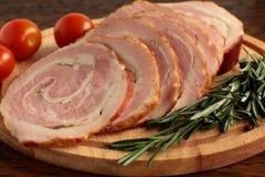 Diriga il bacon. immagini stock