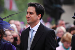 Dirigeant syndical britannique d'Ed Miliband Photos libres de droits