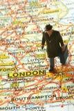 Dirigendosi per Londra Immagini Stock Libere da Diritti
