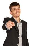Dirigente scelto voi Fotografie Stock Libere da Diritti