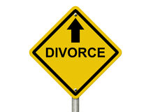 Dirigersi verso divorzio Immagine Stock Libera da Diritti