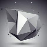 Dirigez 3d l'abstraction numérique, calibre géométrique de trellis Photo libre de droits