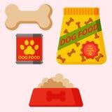 Dirigez l'accessoire canin de pure race de pur sang d'illustration de berger allemand d'animal familier heureux attentif drôle de illustration stock