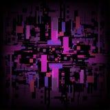 Dirigez l'algorithme de matrice de fond d'abrégé sur ordinateur de circuit numérique Photographie stock libre de droits