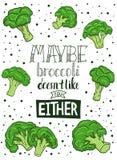 Dirigez l'illustration, affiche de cuisine avec la citation drôle illustration de vecteur
