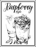 Dirigez l'image d'un cocktail avec un nom Image stock