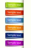 Dirigez l'étiquette d'étiquette de tissu Photos stock