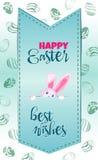 Dirigez la carte postale verticale sur le festin de Pâques Photographie stock libre de droits