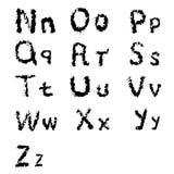 Dirigez la conception de lettres typographique pour des copies et les décorations par Image stock