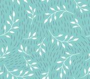Dirigez la configuration sans joint Fond élégant floral illustration stock