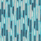 Dirigez la configuration sans joint Le papier déchiré a décoré des taches de peinture et d'encre Différentes bandes avec les bord illustration de vecteur