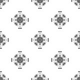 Dirigez la configuration sans joint Répétition géométrique Rebecca 36 Images stock