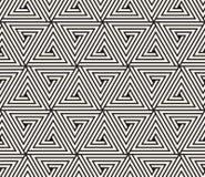 Dirigez la configuration sans joint Texture abstraite élégante moderne Répétition du carrelage géométrique des éléments rayés photo stock