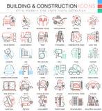 Dirigez la discrimination raciale de constructions de bâtiments icônes d'ensemble pour des apps et le web design Icônes de chauss
