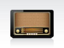 Dirigez la rétro radio illustration stock