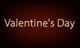 Dirigez la Saint-Valentin de beaucoup d'étoiles Photo libre de droits