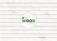 Dirigez la texture en bois vieux panneaux de fond Texture en bois de rétro vintage grunge, fond de vecteur Photographie stock libre de droits