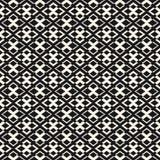 Dirigez la texture géométrique avec de petits losanges et croix Illustration Stock