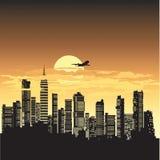 Dirigez la ville illustration libre de droits