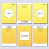 Dirigez le calibre de brochure, l'insecte, magazine de couverture dans la taille A4 Image libre de droits