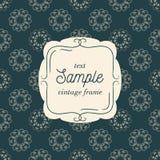 Dirigez le calibre de la carte de vintage pour la carte de voeux illustration de vecteur