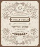 Dirigez le calibre typographique de hippie de beau vintage frais d'invitation Image libre de droits