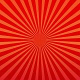 Dirigez le fond abstrait des rayons oranges et rouges d'éclat d'étoile illustration libre de droits