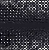 Dirigez le fond abstrait tramé, gradation blanche noire de gradient L'hexagone géométrique de mosaïque forme le modèle monochrome Photos libres de droits