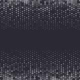 Dirigez le fond abstrait tramé, gradation blanche noire de gradient La triangle géométrique de mosaïque forme le modèle monochrom Photographie stock libre de droits