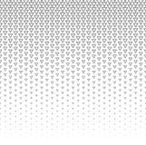 Dirigez le fond abstrait tramé, gradation de gradient de texture de blanc gris La triangle géométrique de mosaïque forme le monoc Photographie stock libre de droits