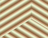 Dirigez le fond avec des formes brunes et beiges de coupe de papier de couleur style de papier abstrait de l'art 3D, disposition  illustration stock