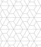 Dirigez le fond classique de répétition abstrait dans le noir et le petit morceau Image stock
