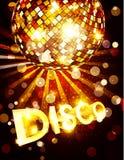 Dirigez le fond de disco Photo stock