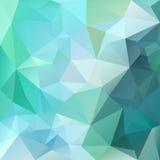 Dirigez le fond de polygone avec le modèle irrégulier de tessellations - conception triangulaire illustration stock