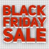 Dirigez le fond de vente de Black Friday avec le texte coloré par image tramée Photo libre de droits