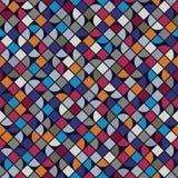 Dirigez le fond géométrique partiel coloré, abstrac carré Image libre de droits