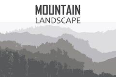 Dirigez le fond sur le thème de s'élever, augmentant, trekking, alpinisme illustration libre de droits