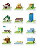 Dirigez le graphisme de construction Photo libre de droits