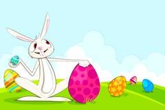 Dirigez le lapin de Pâques Photo libre de droits