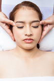 Dirigez le massage Photo stock