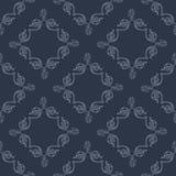 Dirigez le modèle sans couture avec les éléments décoratifs dans le style de victorian illustration stock
