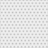Dirigez le modèle sans couture de la géométrie sacrée moderne, fleur de la vie, concevez la texture abstraite Images stock