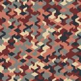 Dirigez le modèle sans couture moderne de cube en géométrie, géométrique abstrait Image libre de droits