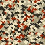 Dirigez le modèle sans couture moderne de cube en géométrie, géométrique abstrait Photos libres de droits