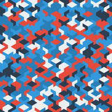 Dirigez le modèle sans couture moderne de cube en géométrie, géométrique abstrait Photos stock