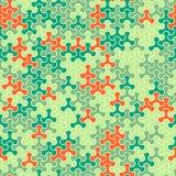 Dirigez le modèle sans couture moderne de tessellation de la géométrie, abstrait Photo stock